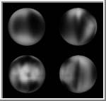 Caronte. A imagem mais nítida feita pelo telescópio Hubble