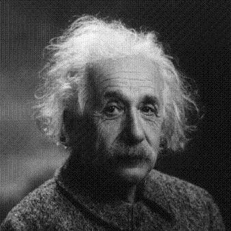 Albert Einstein, pai da Teoria da Relatividade, falecido em  abril de 1955