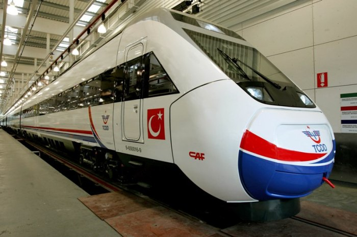 Trem bala turco