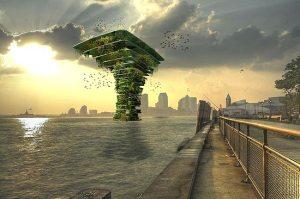 árvore marinha artificial