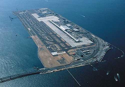 Aeroporto Nagoya : Mega construções uma ilha artificial ☻mega arquivo