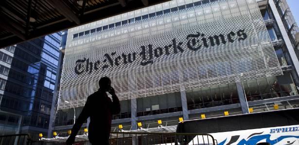 Fachada do NY Times