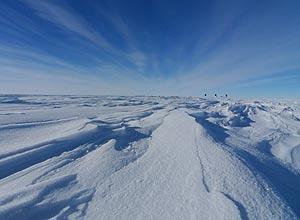 antártida capa de gelo