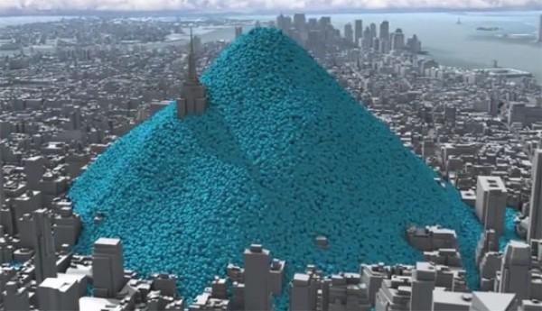 N York sitiada pela poluição
