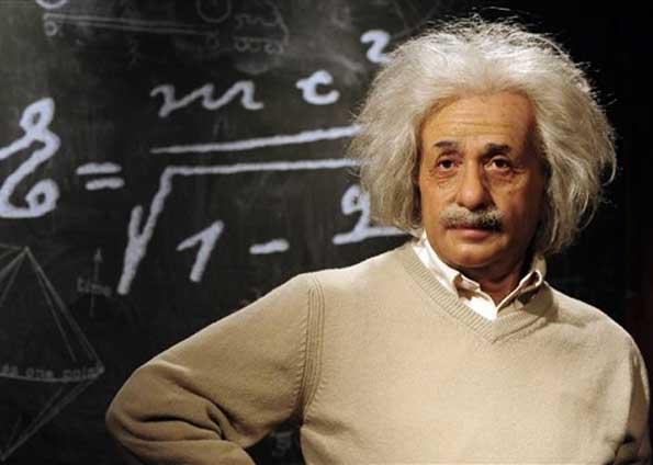 Albert Einstein no Museu de Cera