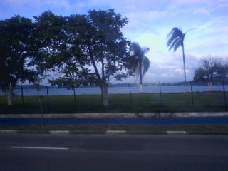 Guarapiranga vista da Av Robert Kennedy