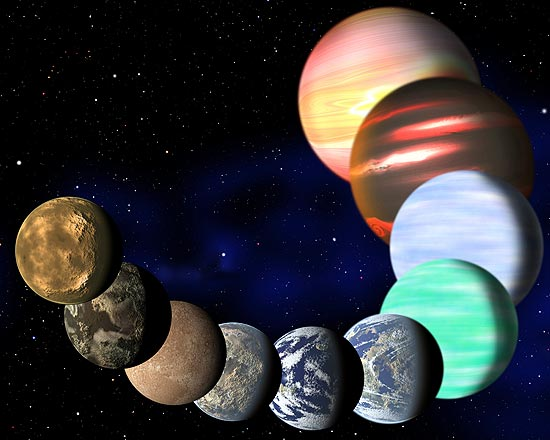 17 Bilhões de planetas do tamanho da Terra