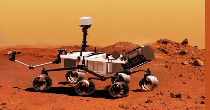 O robô que explora Marte