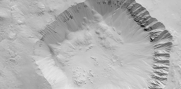 marte cratera