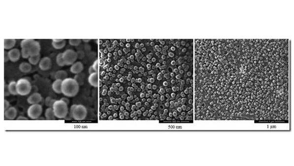 As nanopartículas de platina