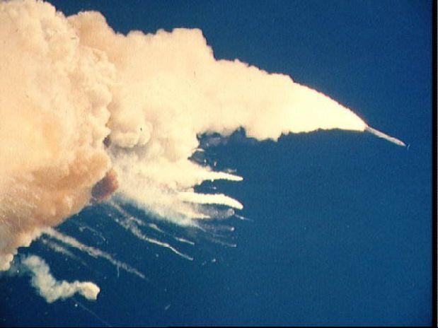 Acidente com o Challenger em 1986