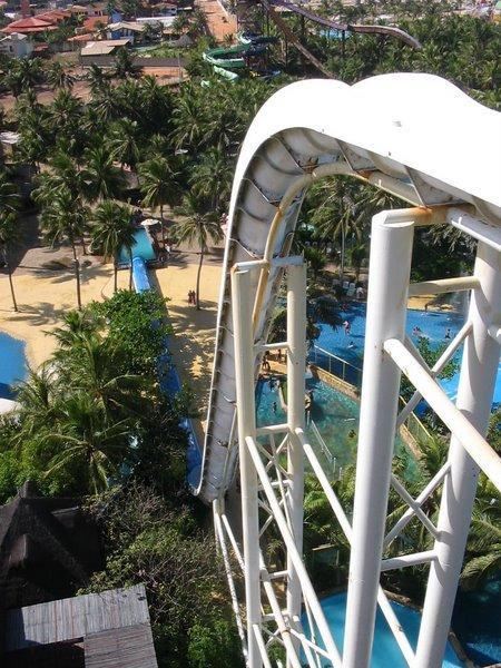 O maior toboágua do mundo em Fortaleza