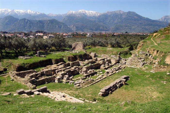 Ruínas de Esparta