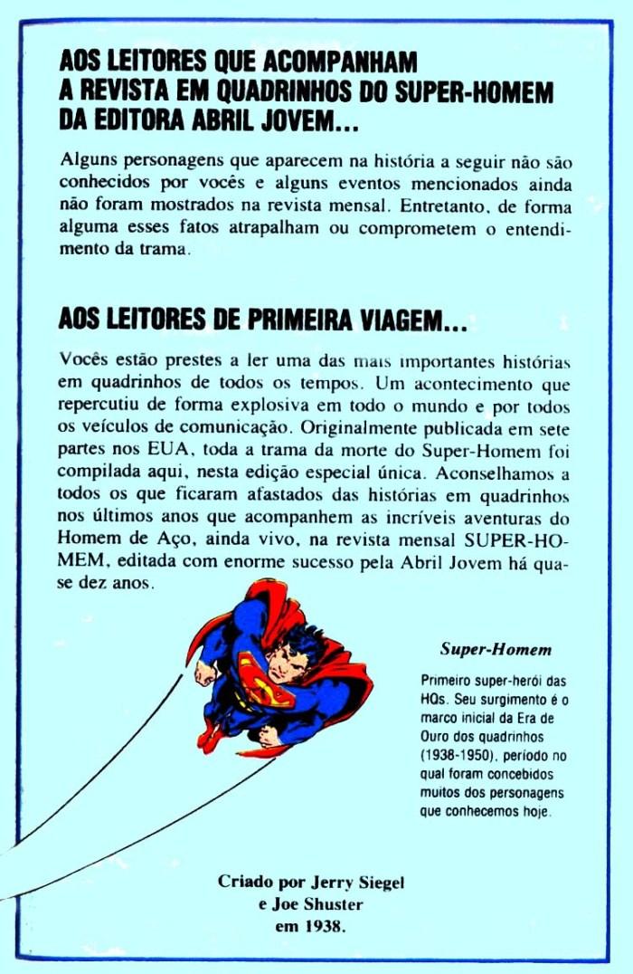 A Morte do Super-Homem pg 000