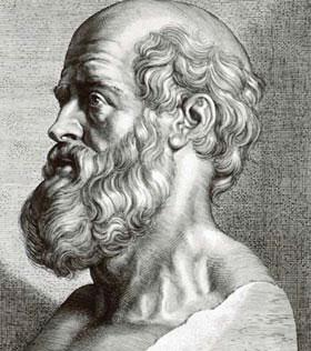 Hipócrates, o pai da Medicina