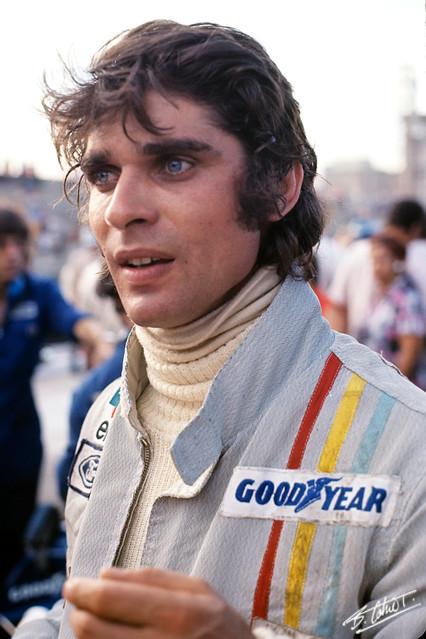 Cevert no GP Brasil em 1973, em Interlagos