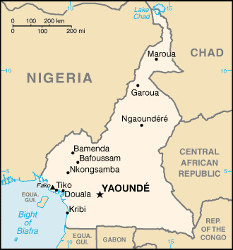 Cameroon-CIA_WFB_Map