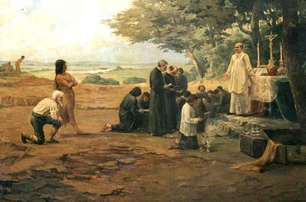 Pateo-do-Colegio-A-primeira-missa-de-Sao-Paulo-de-Piratininga-e-o-marco-do-nascimento-da-cidade