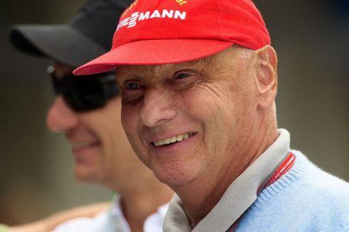 Niki Lauda hoje, é... o tempo passa!