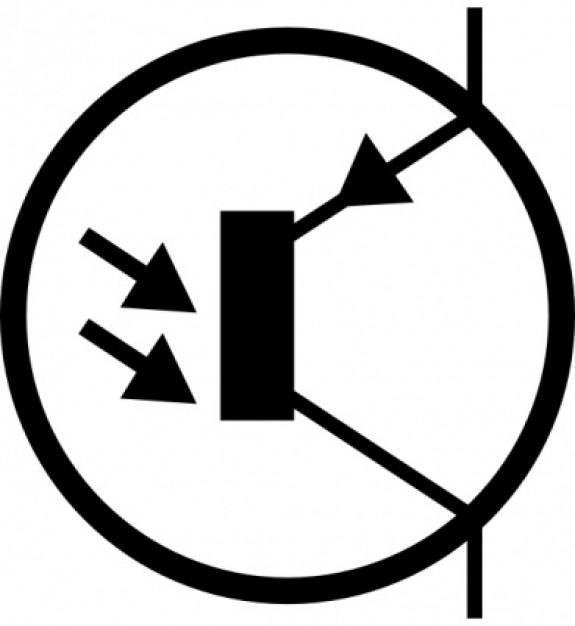 electronic-fototransistor-pnp-circuito-clip-art-simbolo_413006