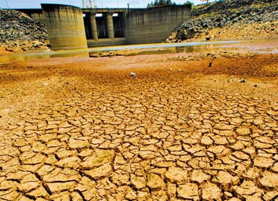 Sistema Cantareira seco