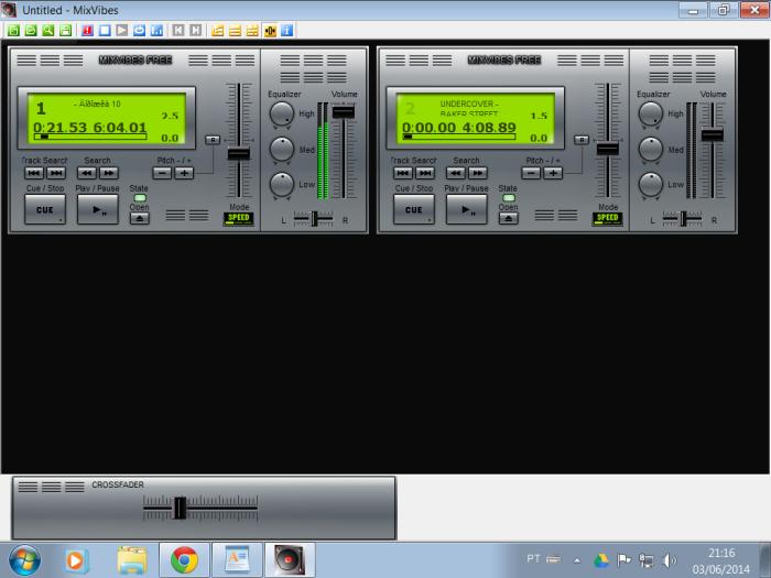 Mix Vibe é um dos melhores softwares em matéria de qualidade de som