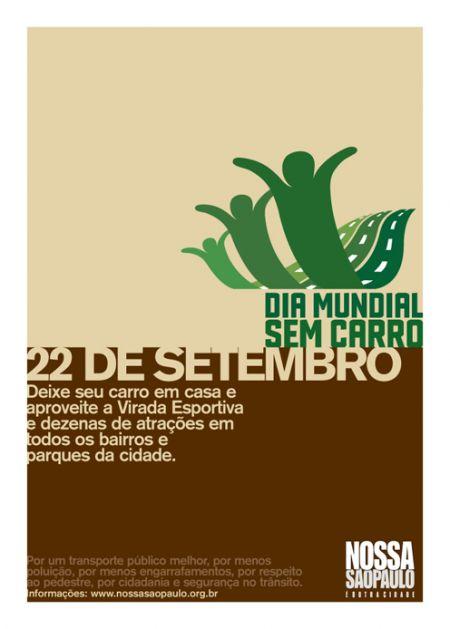 22 DE SETEMBRO DIA MUNDIAL SEM CARRO