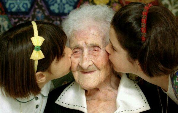 A mulher mais velha de todos os tempos