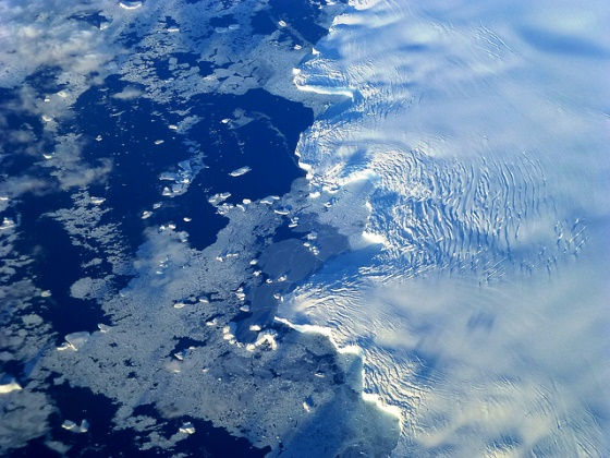 Antártida derretimento