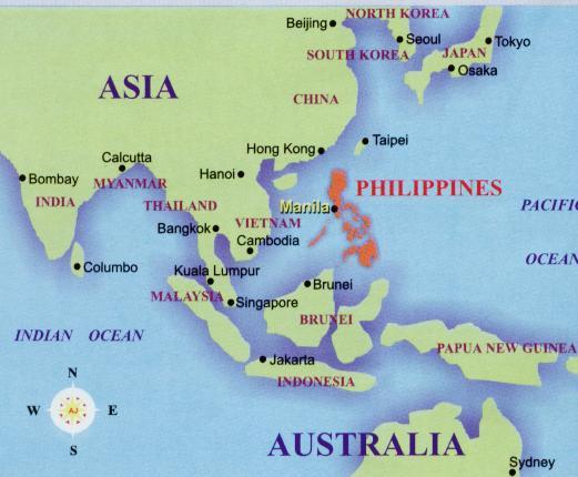 philipinas mapa