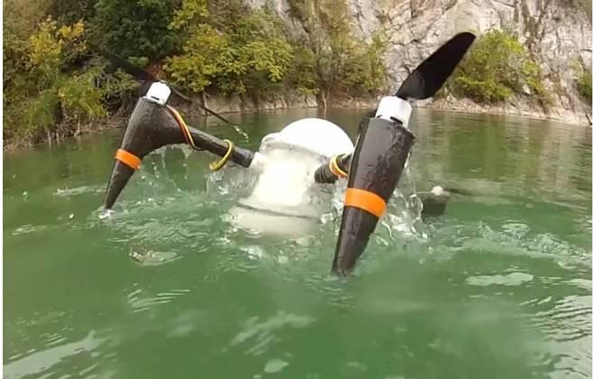 drone anfibio