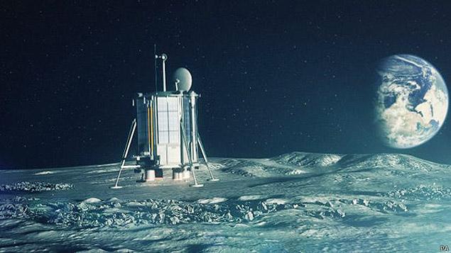 sonda na lua