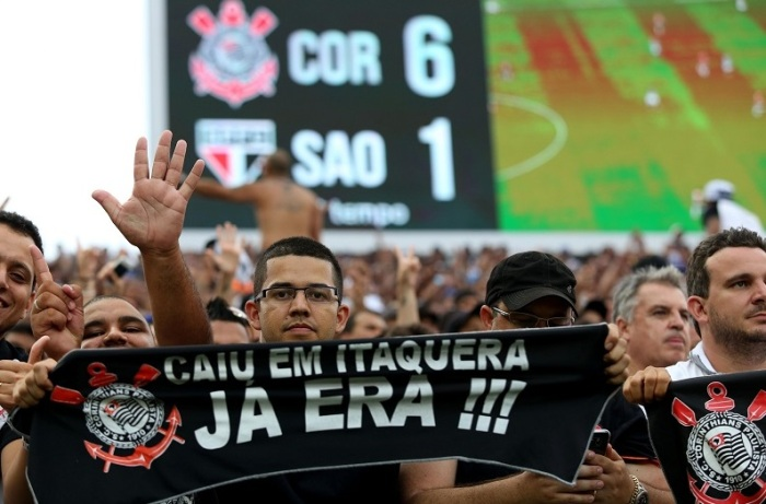 CAMPEONATO BRASILEIRO 2015: CORINTHIANS X SÃO PAULO FC