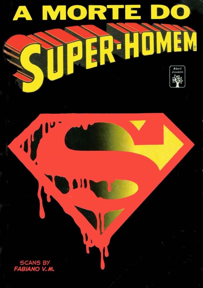 A Morte do Super-Homem capa