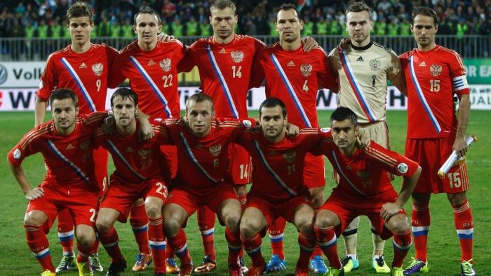 time-da-russia-posa-antes-de-jogo-das-eliminatorias-