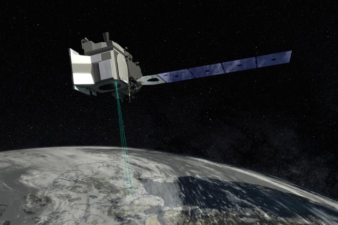satelite derretimento