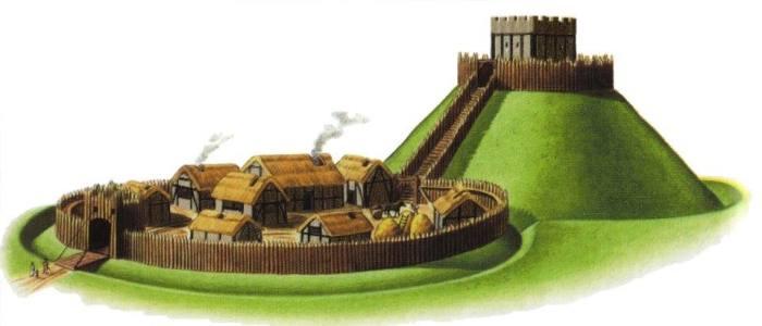 castelo de madeira