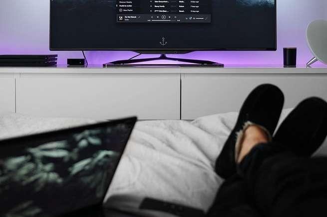 TV ligada
