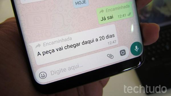 whatsapp-android-encaminhado