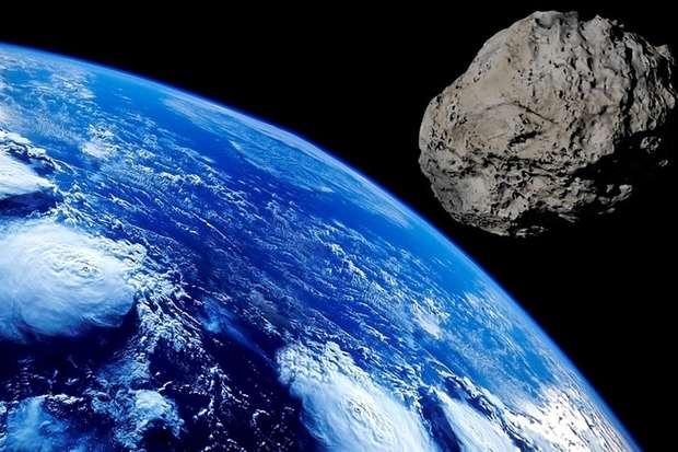 asteroide choque